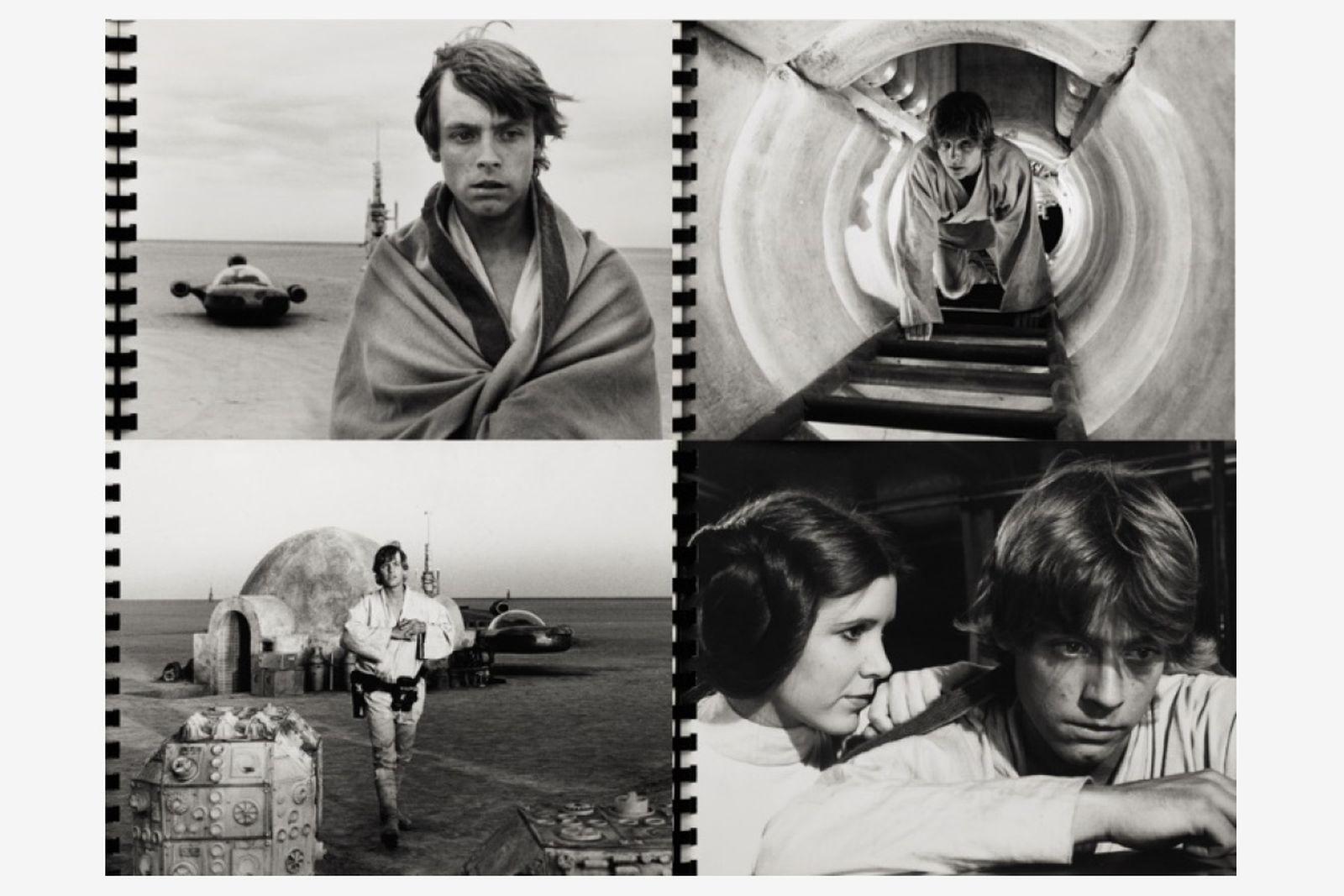 'Star Wars', Spiral bound album containing 52 original photographs, 1976
