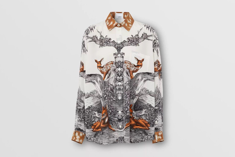 Silk Oversized Shirt