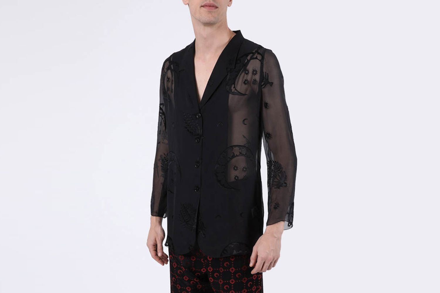 Sheer Logo Shirt