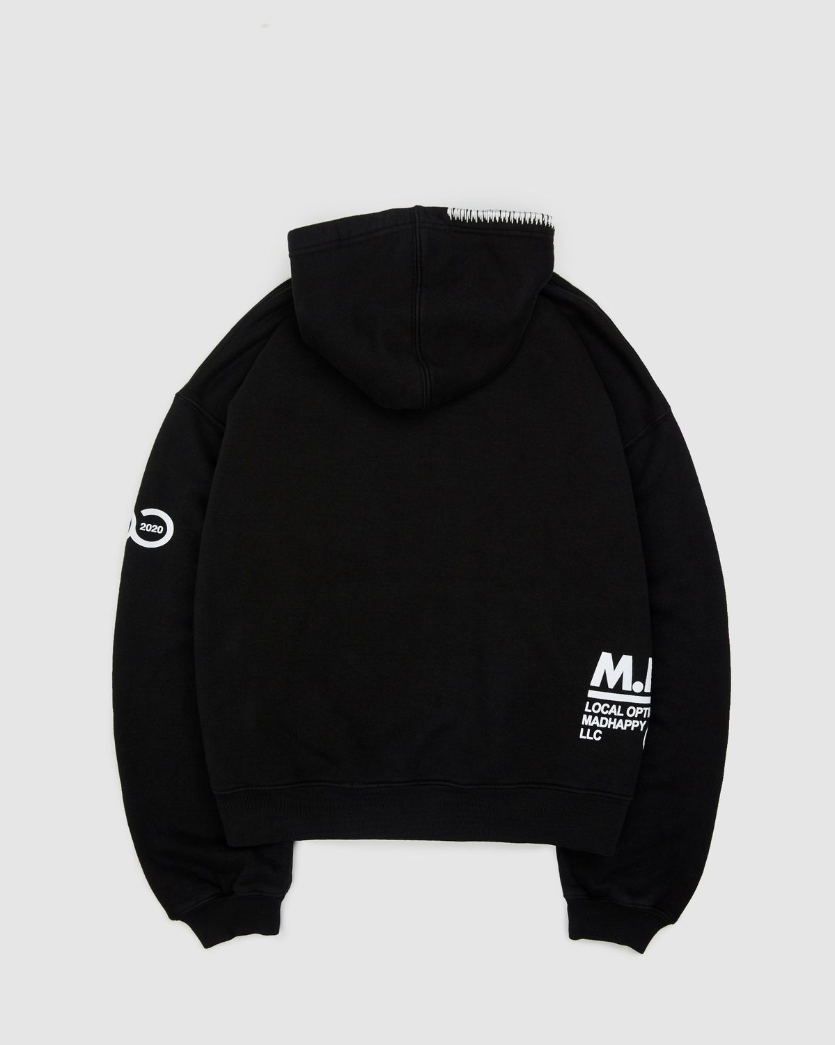 Madhappy x colette Mon Amour - Hoodie Black - Image 2