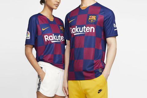 FC Barcelona 2019/20 Stadium Home Soccer Jersey