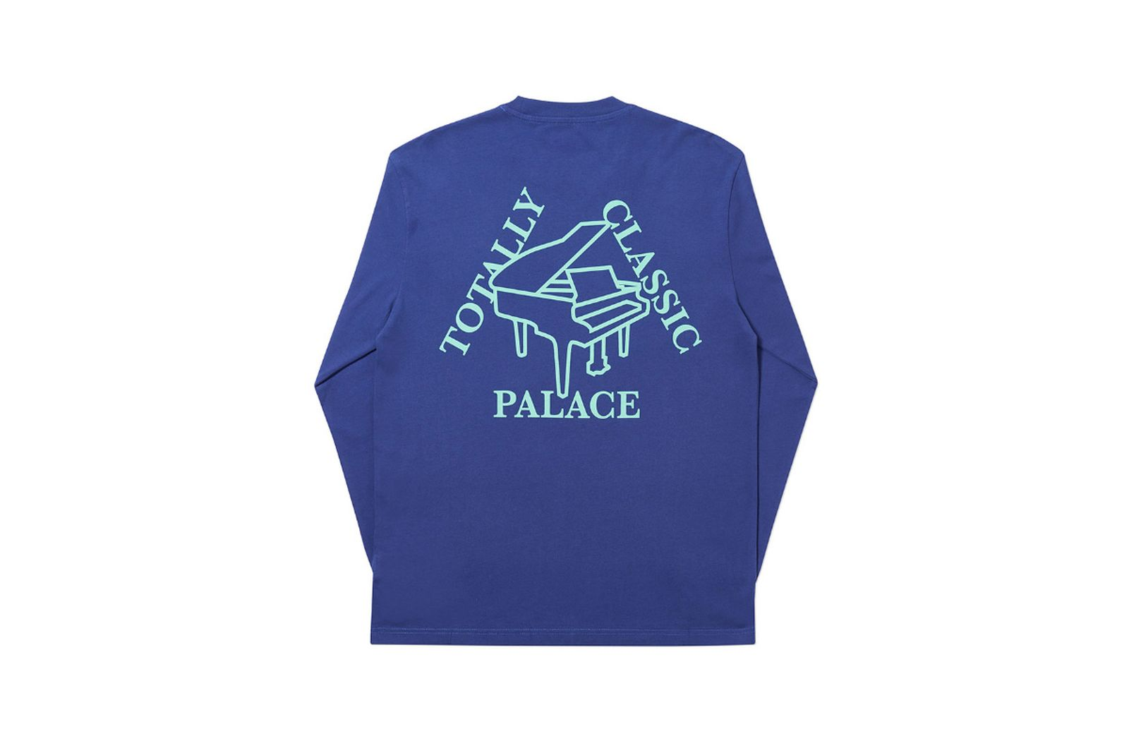 Palace 2019 Autumn Longsleeve Classic blue back
