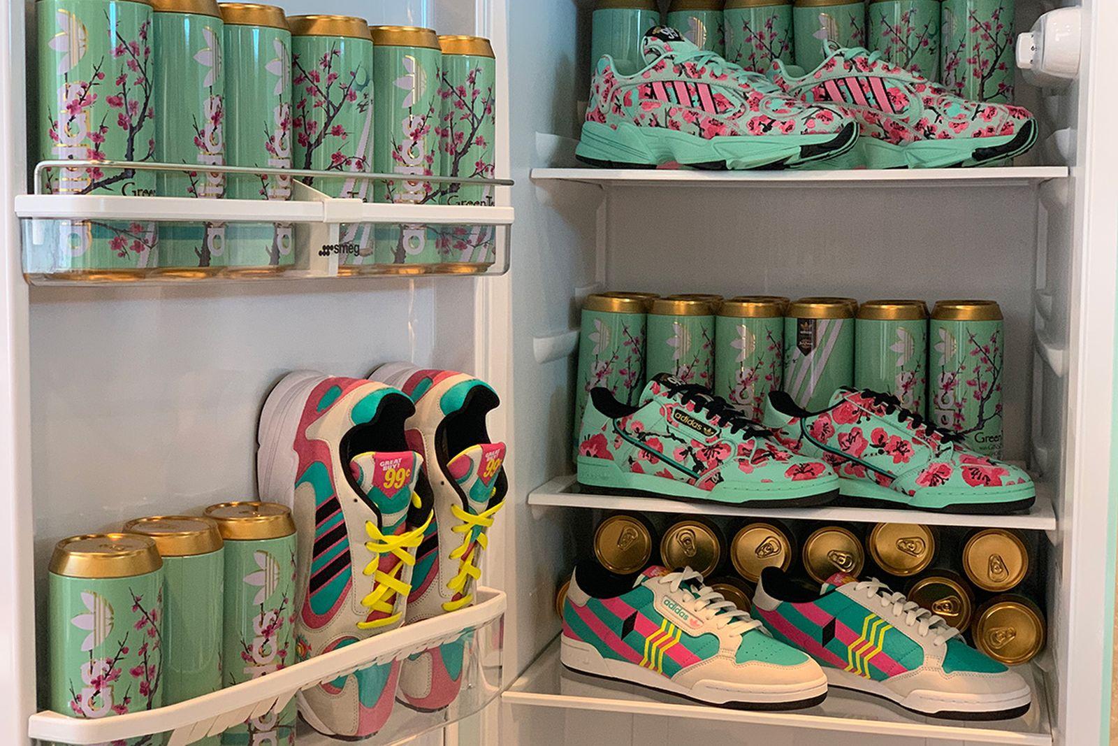 arizona iced tea x adidas originals release date price