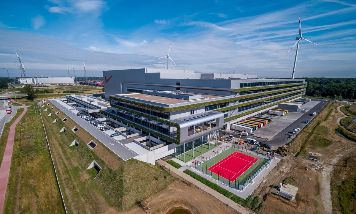 Nike Opens Distribution Center Fully Powered By Renewable Energy