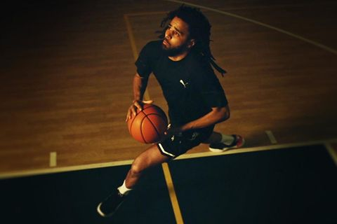 J. Cole PUMA basketball