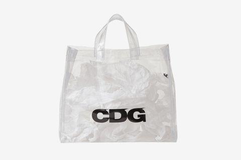 cdg tote bag comme des garcons jungles wtaps