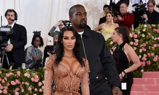 Kim Kardashian Gives the Inside Scoop on Her & Kanye West's Met Gala Outfits