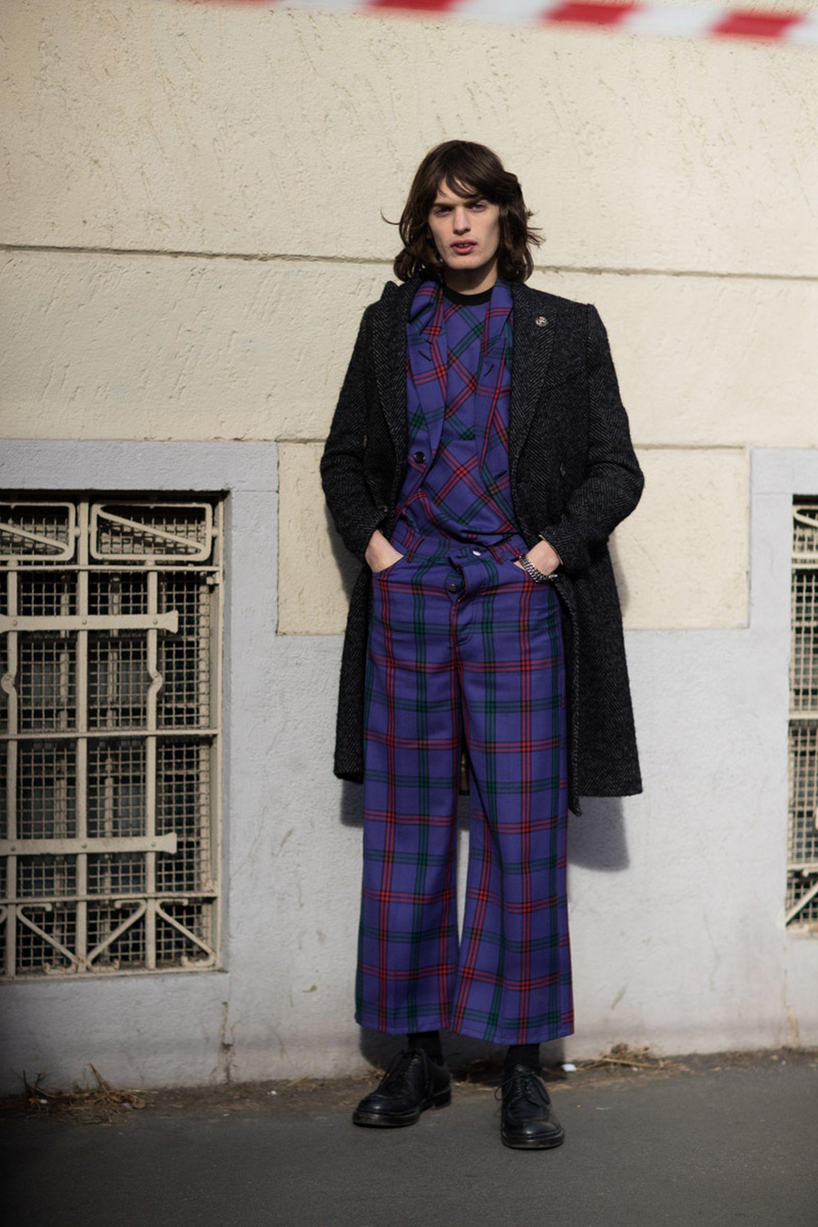 12milan fashion week street style 032c HBA x Colmar Supreme