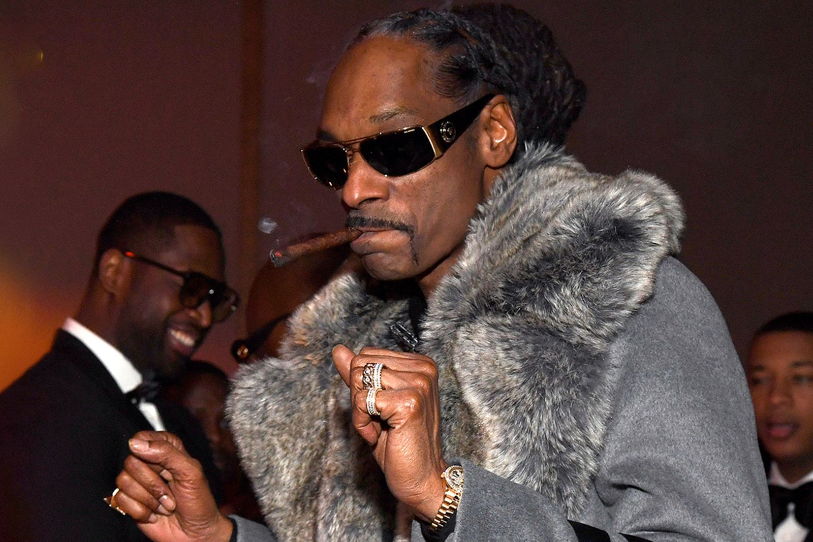 Snoop Dogg attends Sean Combs 50th Birthday Bash