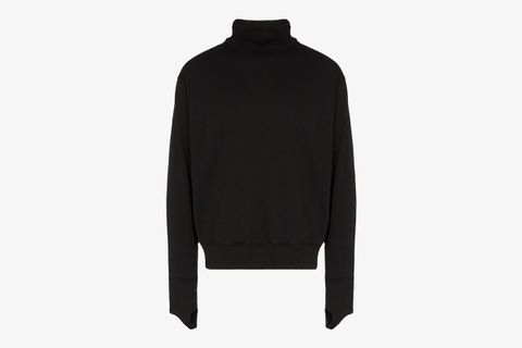 Protection Cotton Roll Neck Jumper