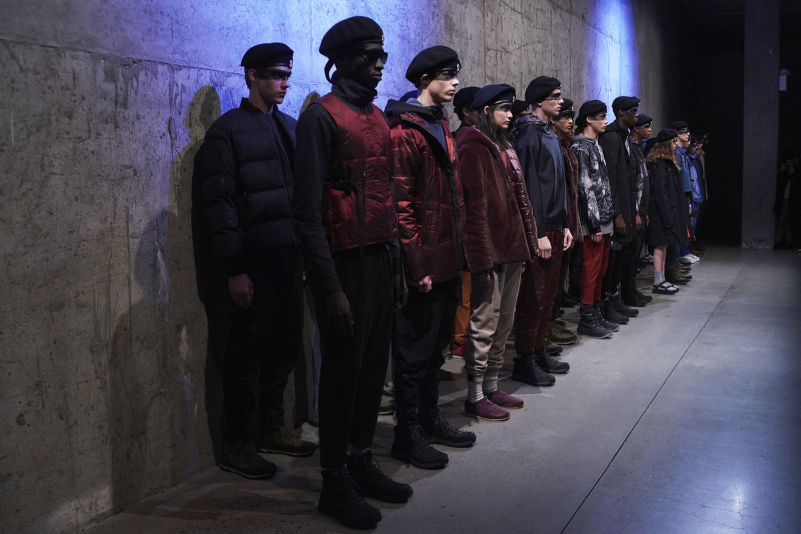 save duck dynes nyfw collection Save the Duck Sustainable Fashion The Woolmark Company