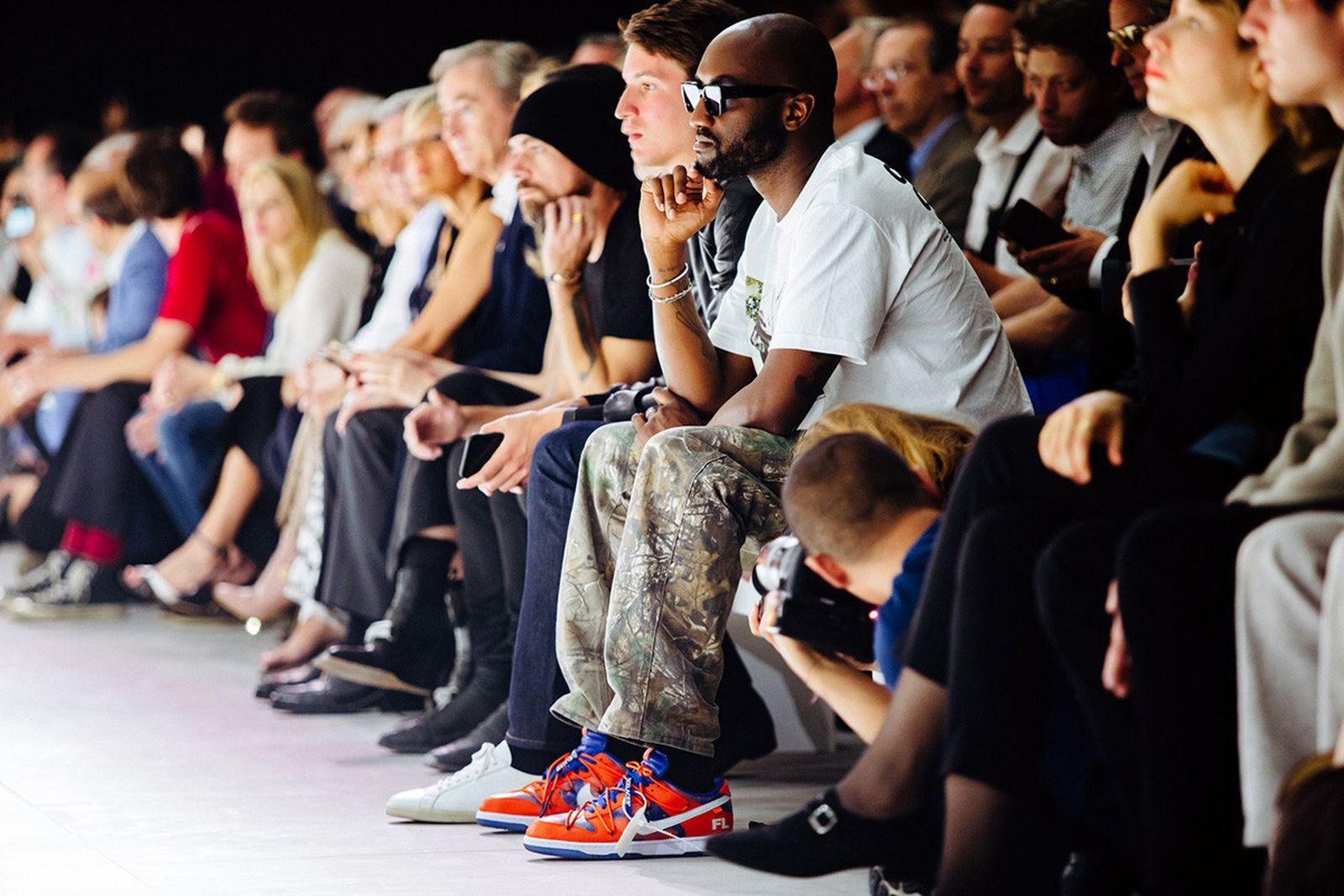Virgil Abloh Paris Fashion Week