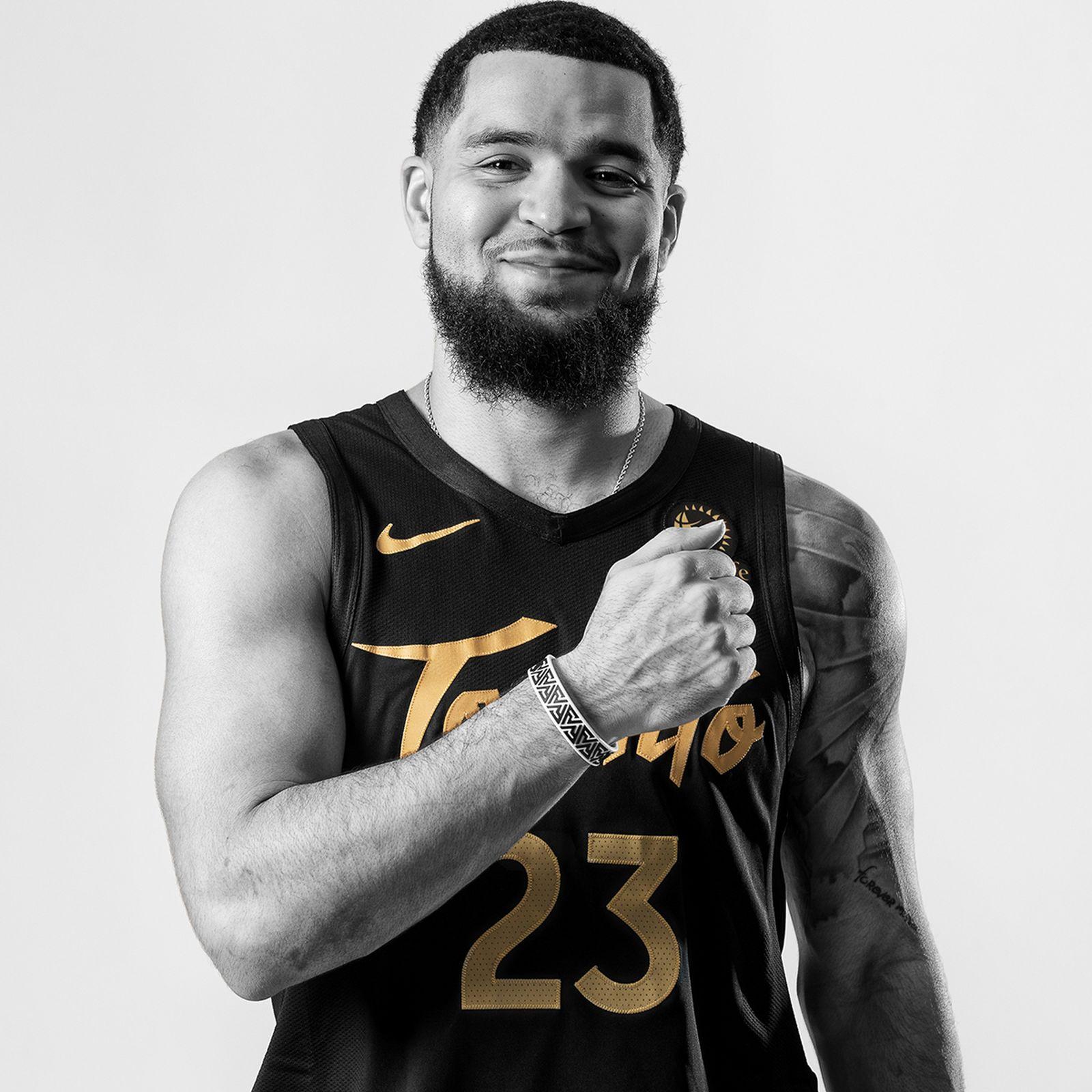 OVO Toronto Raptors NBA City Edition Uniforms