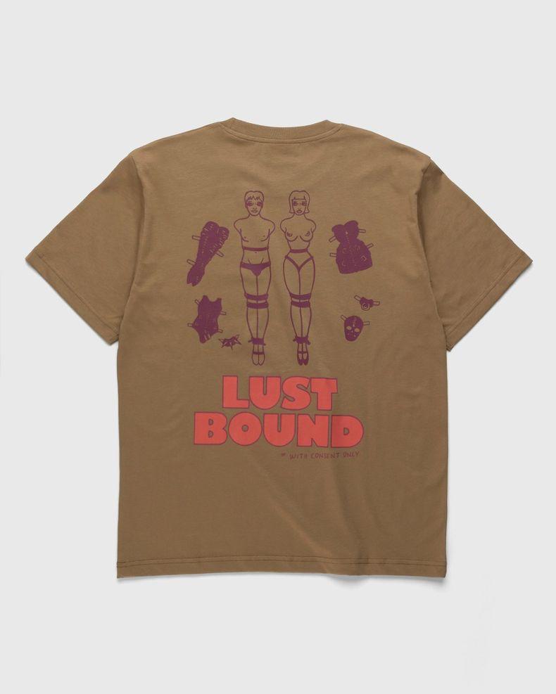 Carne Bollente – Lust Bound T-Shirt Brown