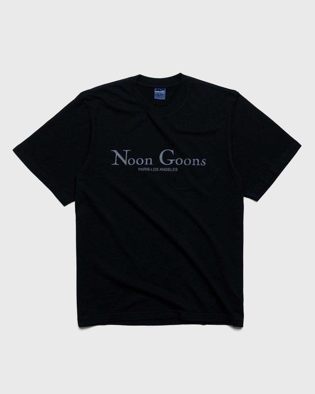 Noon Goons – Sister City T-Shirt Black - Image 1