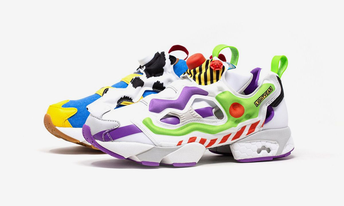 BAIT x Toy Story 4 x Reebok Instapump Fury: Official First Look