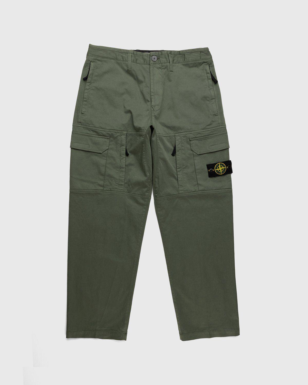 Stone Island – Pants Green - Image 1