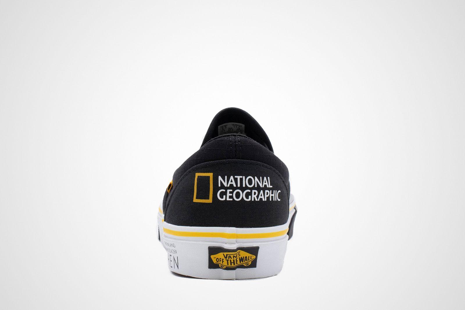 National Geographic Vans Slip-On