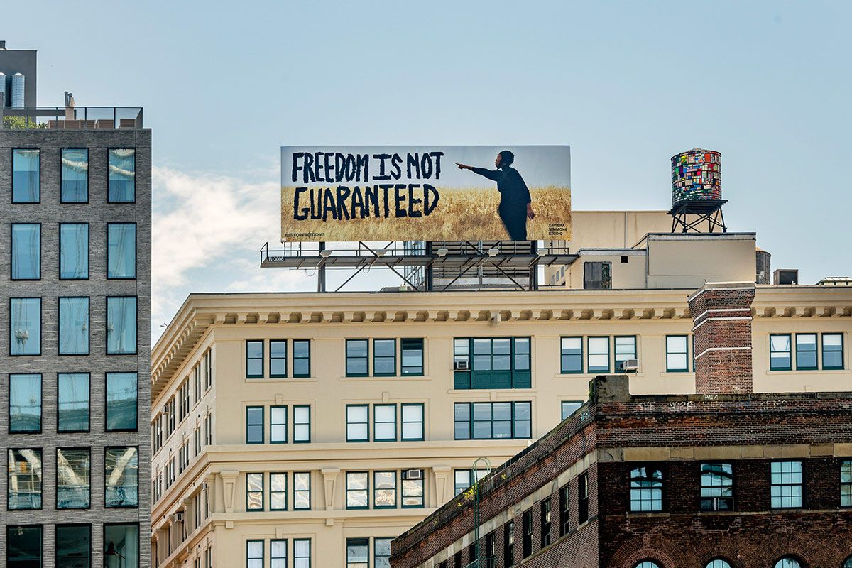 Why Works by Ai Weiwei, Guerilla Girls & More Are Appearing on Billboards in All 50 States Today