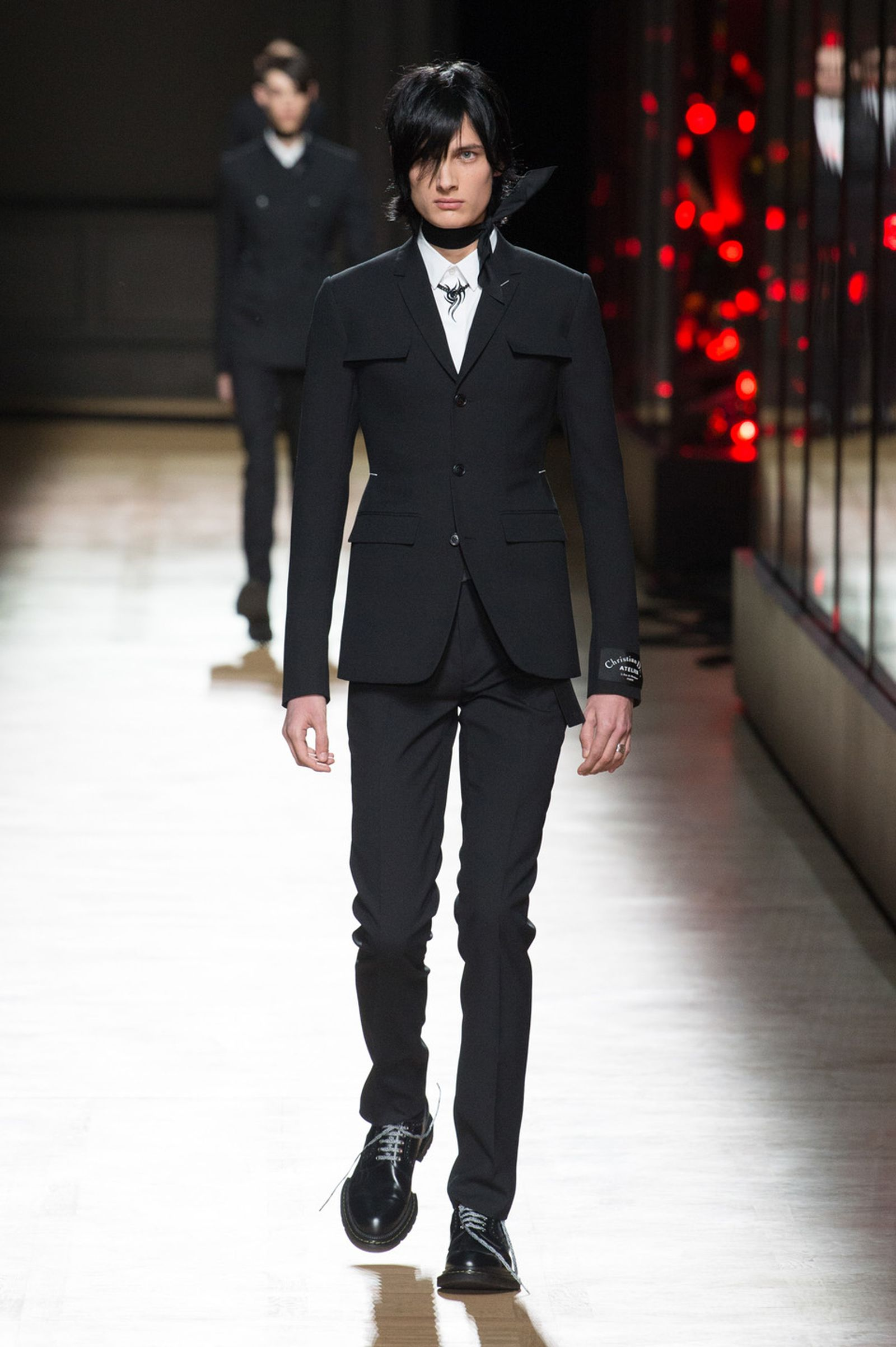 DIOR HOMME WINTER 18 19 BY PATRICE STABLE look03 Fall/WInter 2018 runway