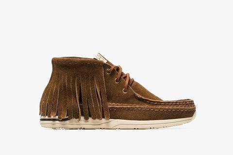 Voyageur Fringe Trim Boots