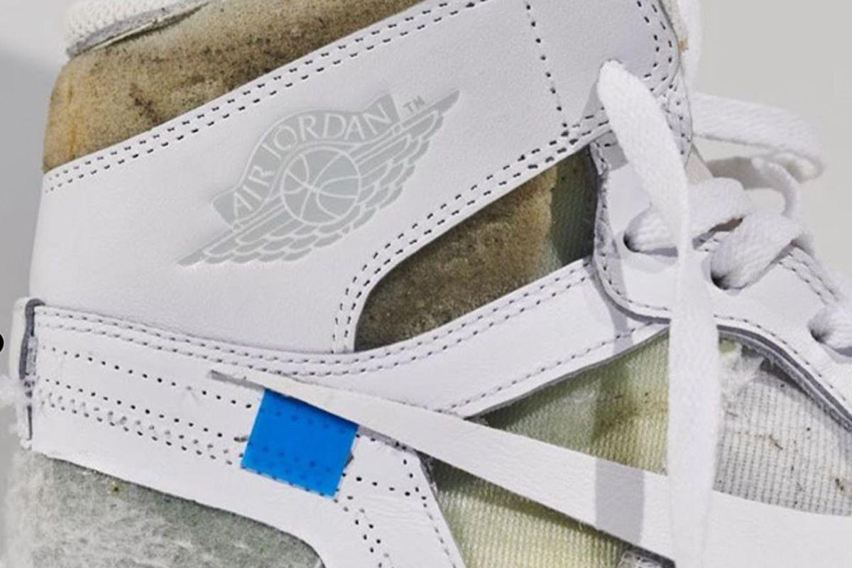 Virgil Abloh Shares the Very First Off-White™ x Nike Air Jordan 1 Sample 3