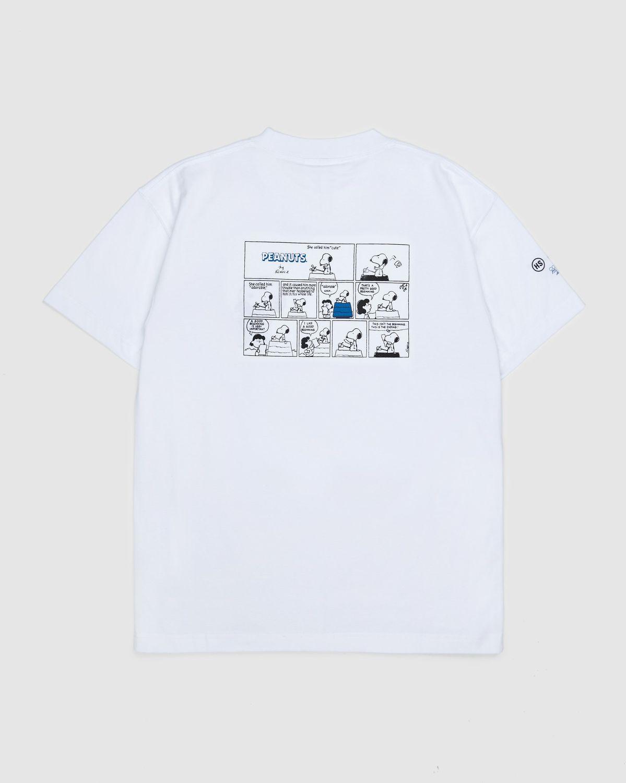 Colette Mon Amour x Soulland -  Snoopy Comics White T-Shirt - Image 2