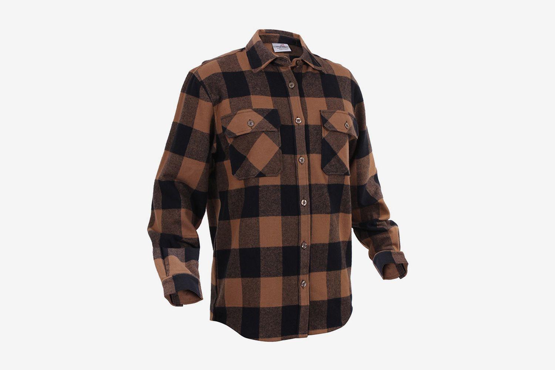 Heavy Weight Plaid Shirt