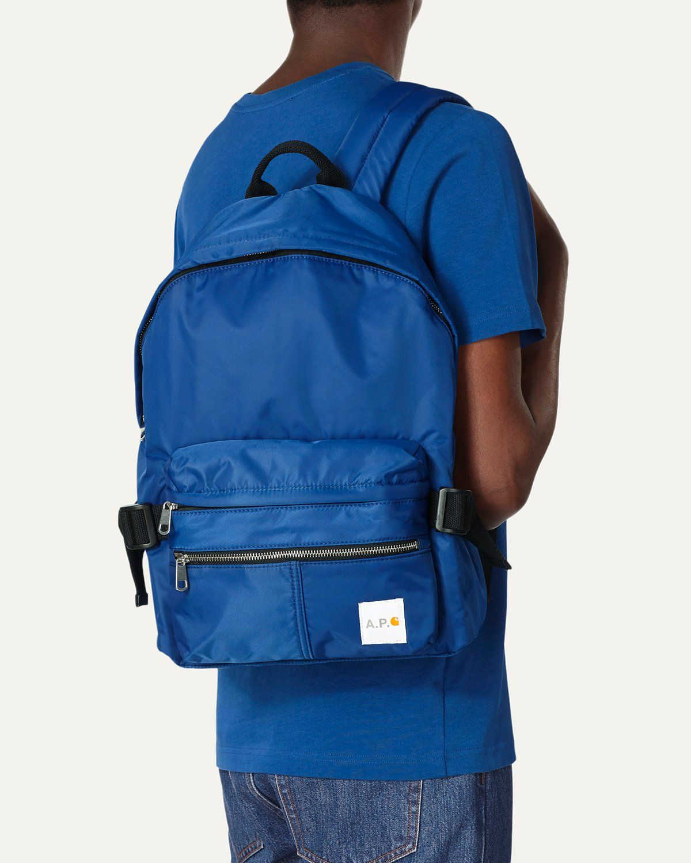A.P.C. x Carhartt WIP - Shawn Backpack Indigo - Image 2