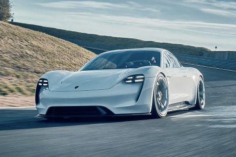 porsche taycan electric cars