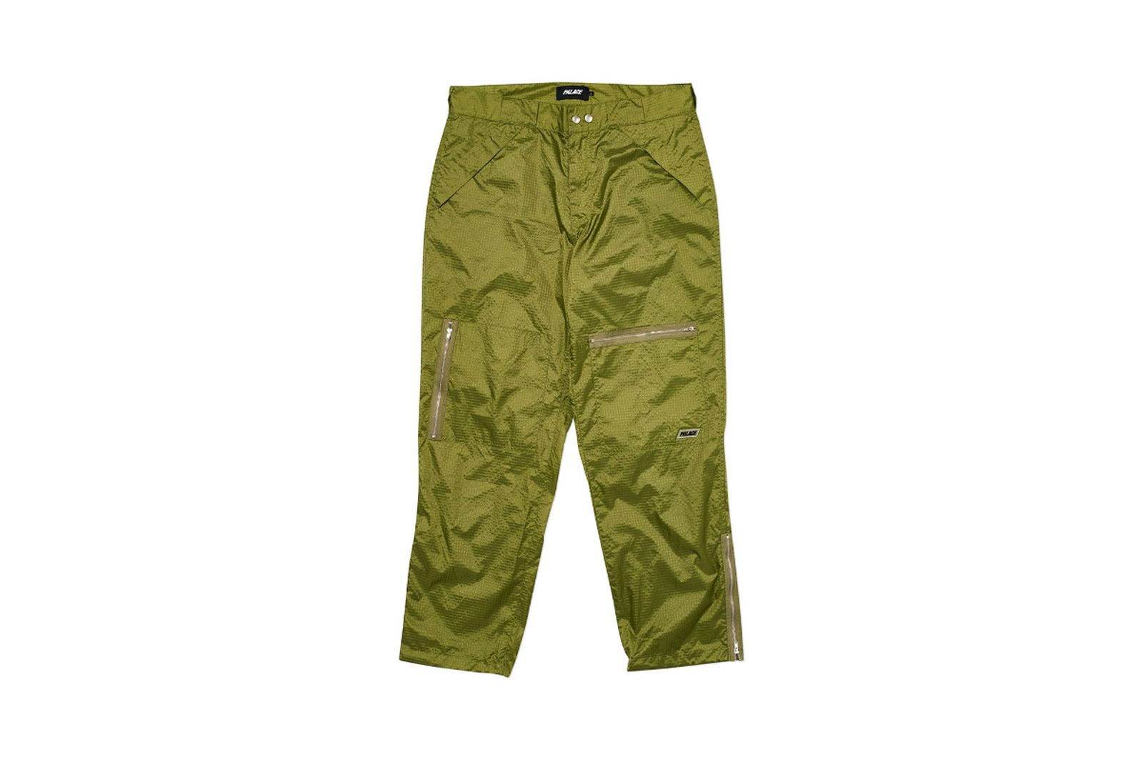 Palace 2019 Autumn Pant Flight green front fw19
