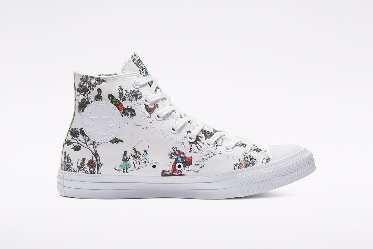 Union Celebrates African American Culture With New Converse Chuck Taylor 12