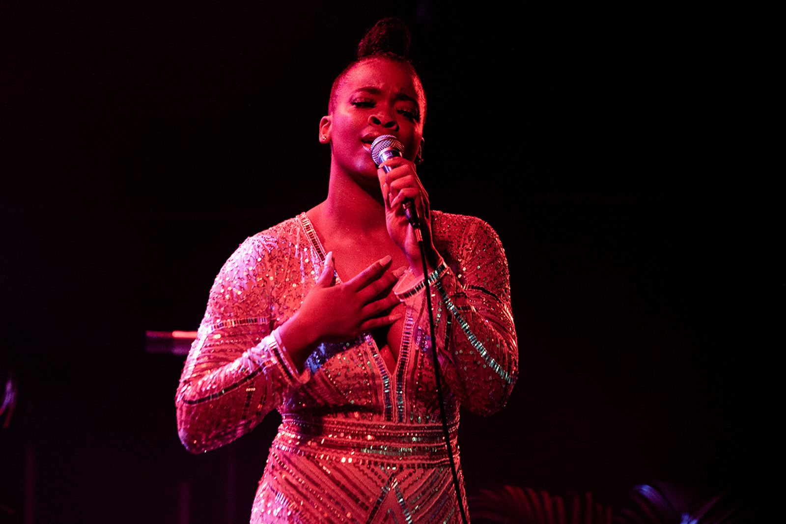 Ari Lennox performs at Electric Ballroom