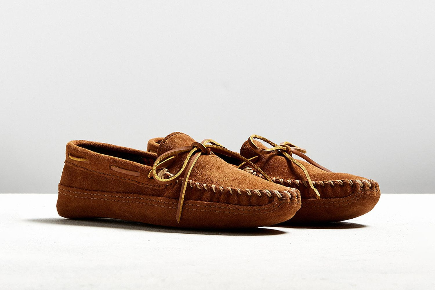 Double Bottom Fleece Moccasin