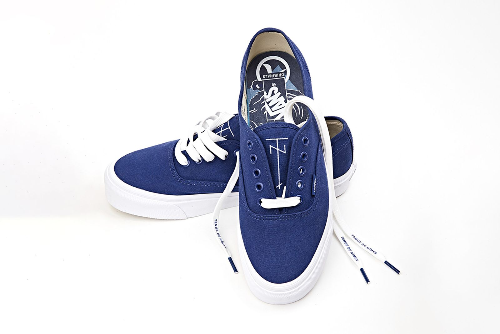 tenue de nimes vans indigo authentic buy now