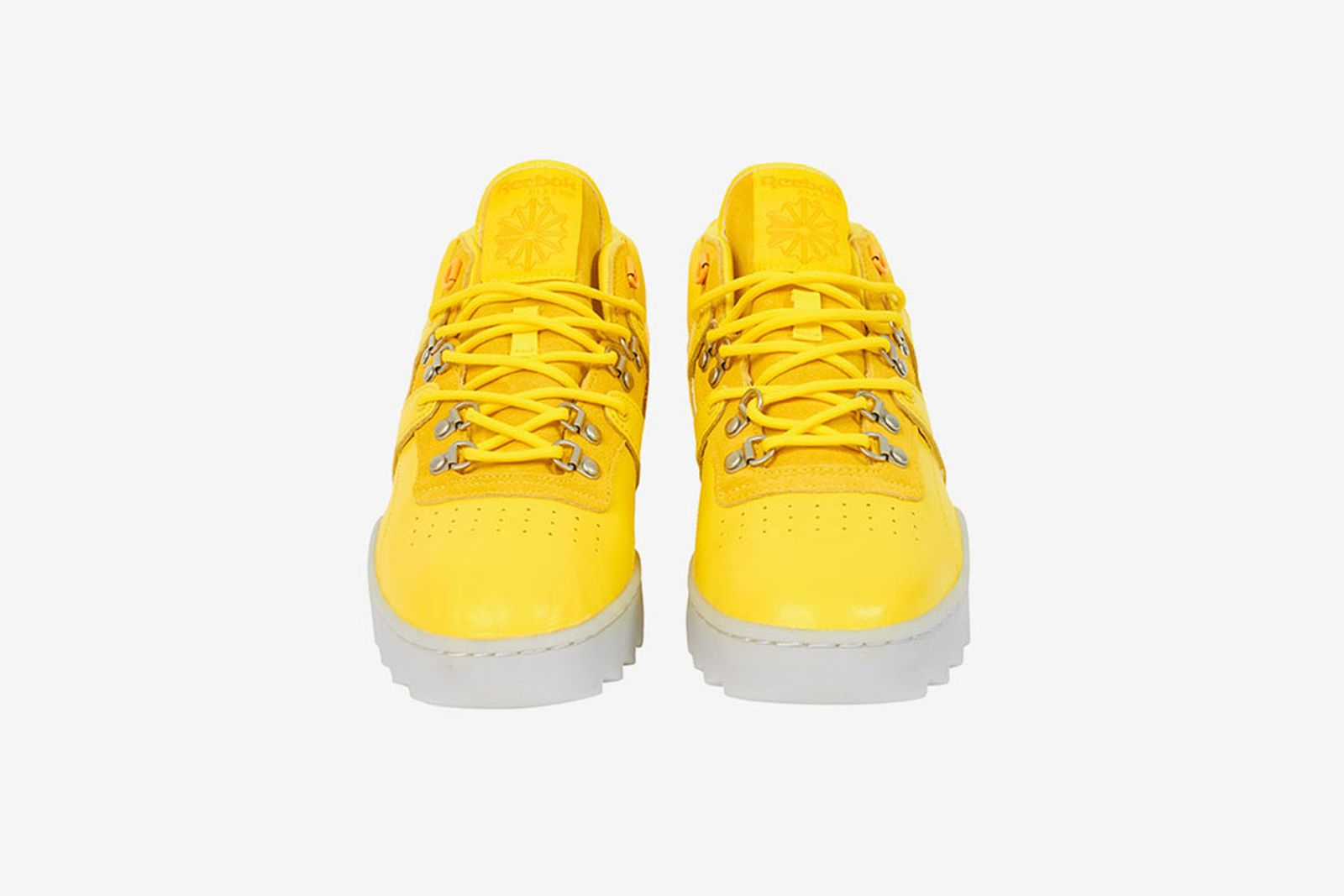 Palace x Reebok OG Workout Ripple yellow