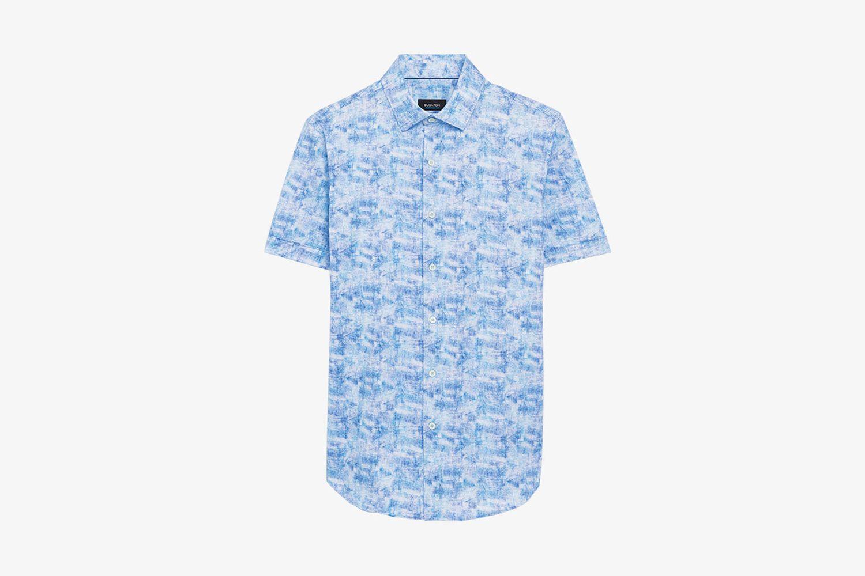 Watercolor Short SleeveOoohCotton® Performance Shirt