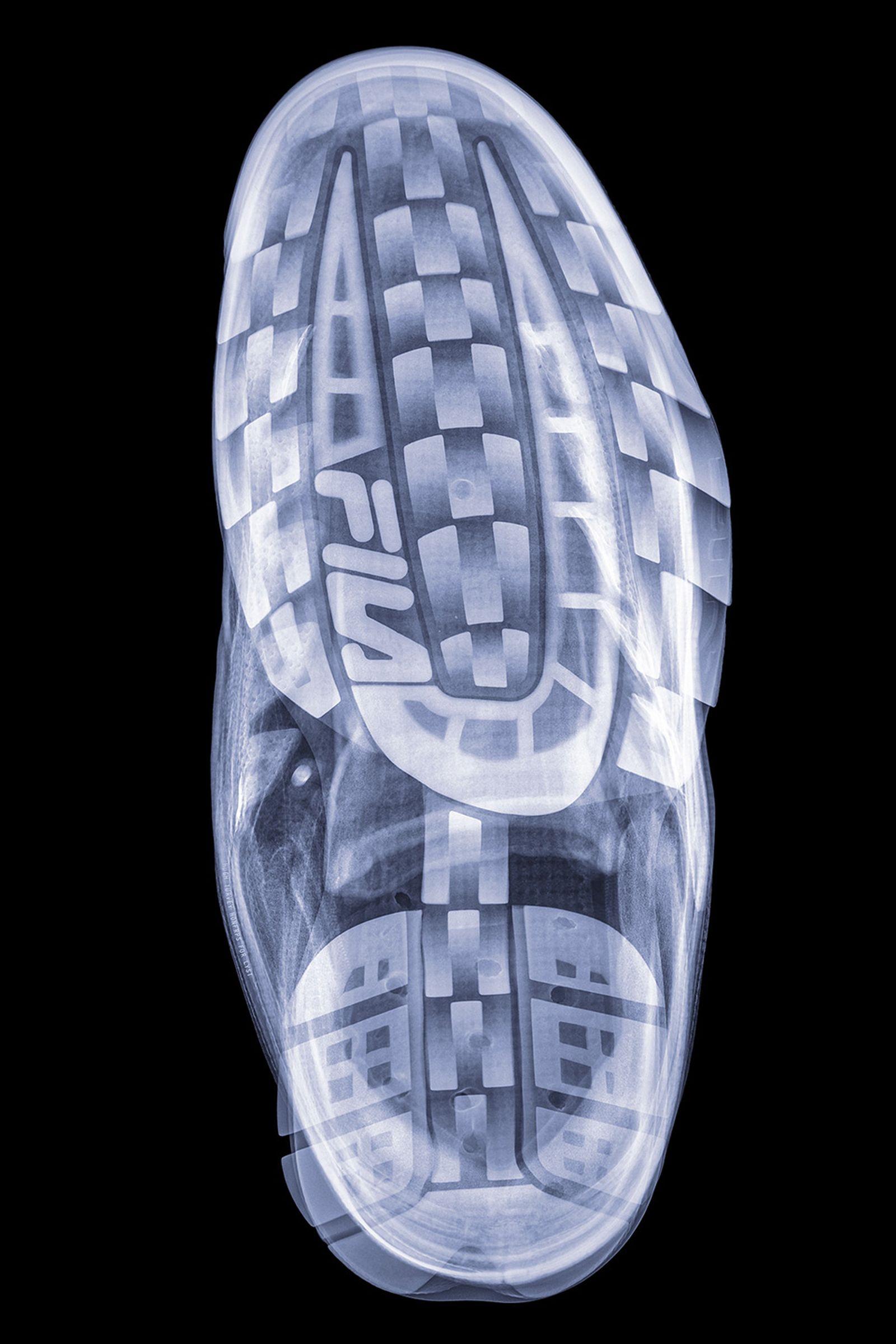 hugh turvey x ray sneaker photography