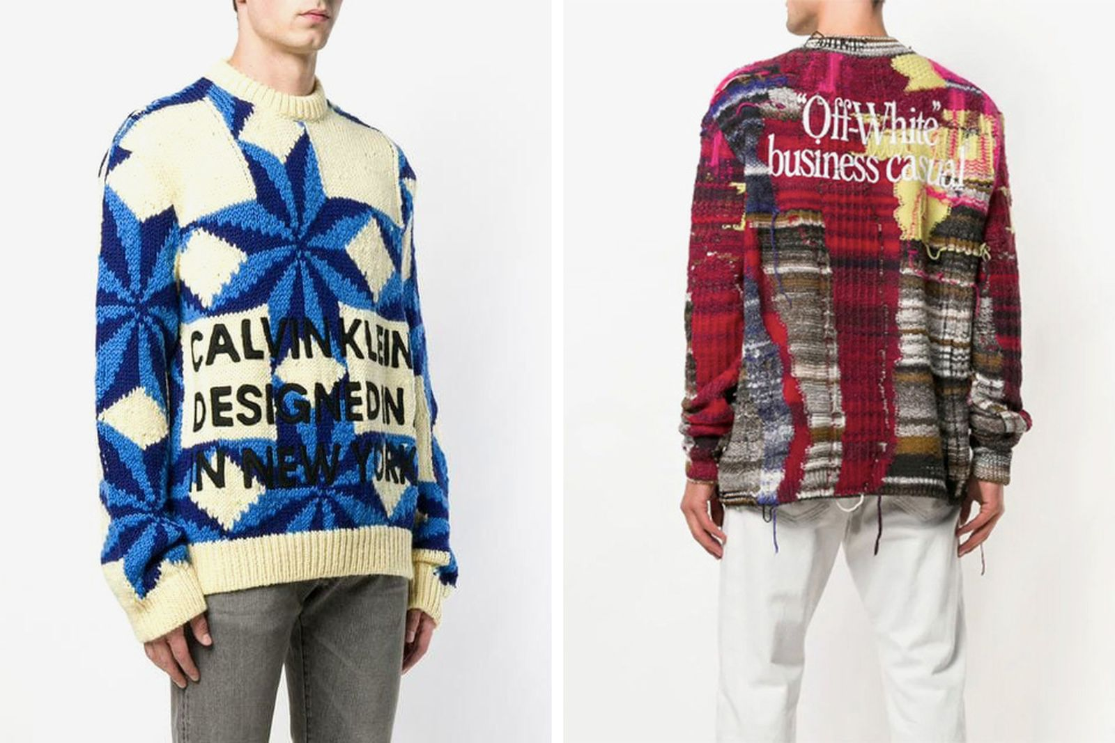 farfetch main Calvin Klein OFF-WHITE c/o Virgil Abloh kenzo
