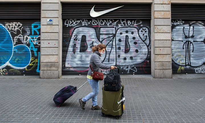 Nike store closed