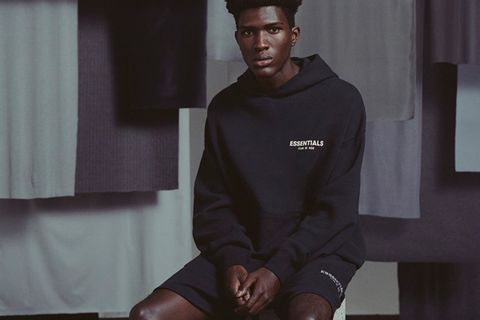 Fear of God ESSENTIALS Hoodie Lookbook