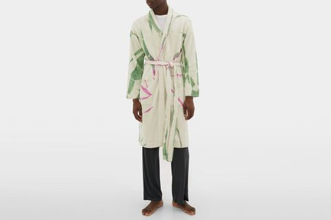Cyclone Belted Cashmere-Blend Bathrobe