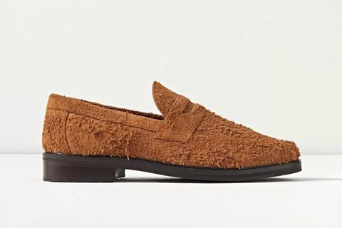 Hairy Suede Loafers