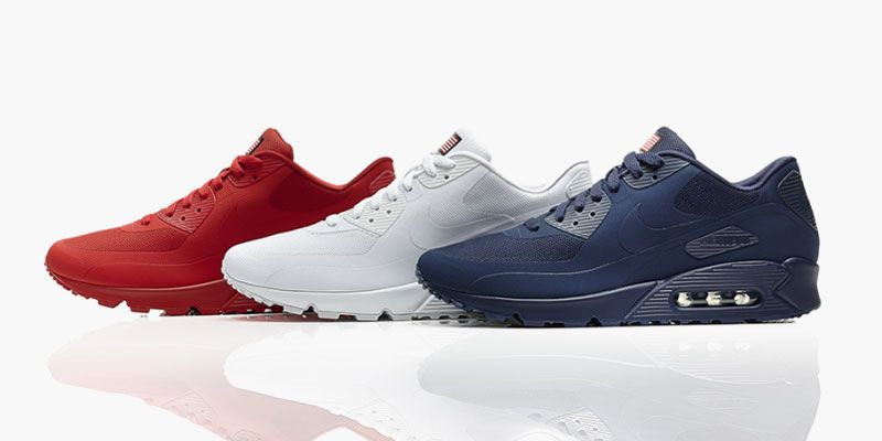 new products 16851 4420d Nike Air Max 90 Independence Day Pack • Highsnobiety