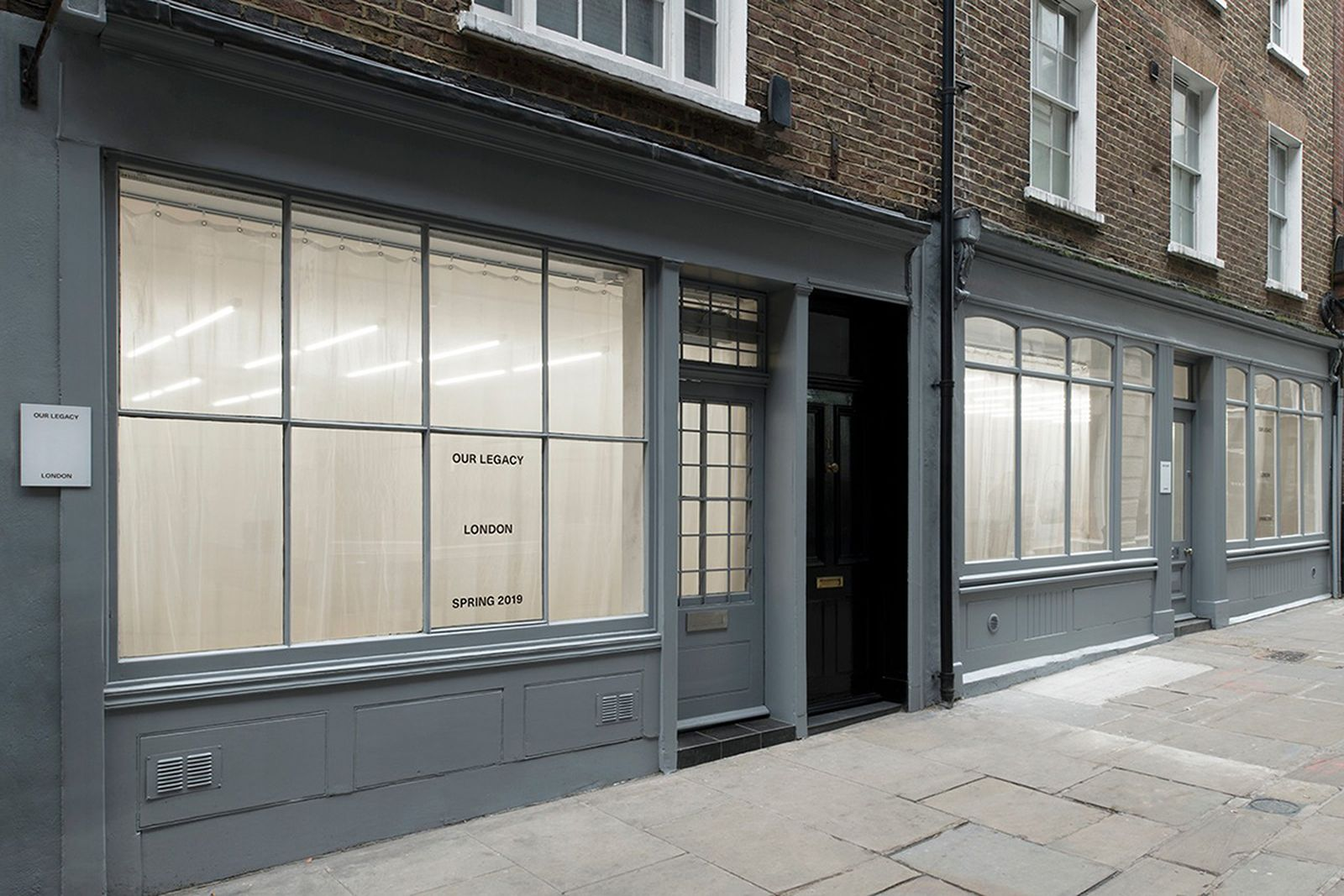 our legacy london store redesign