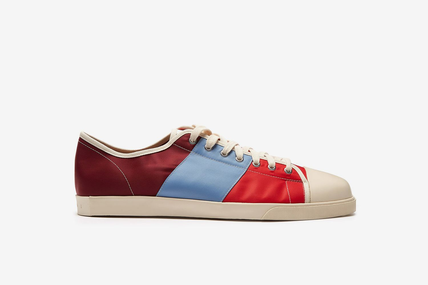 Low-Top Canvas Trainers
