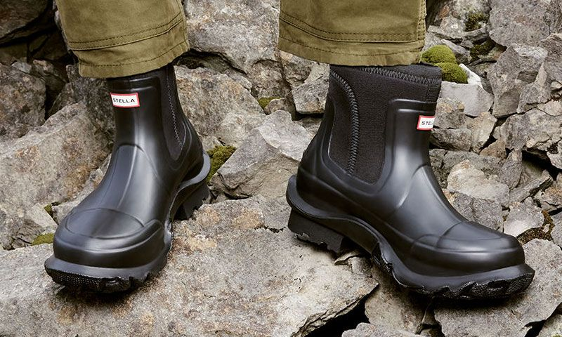 Hunter and Stella McCartney Release 100% Vegan Wellington Boots