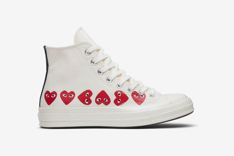 Chuck 70 Hi Top 'Multi Heart'