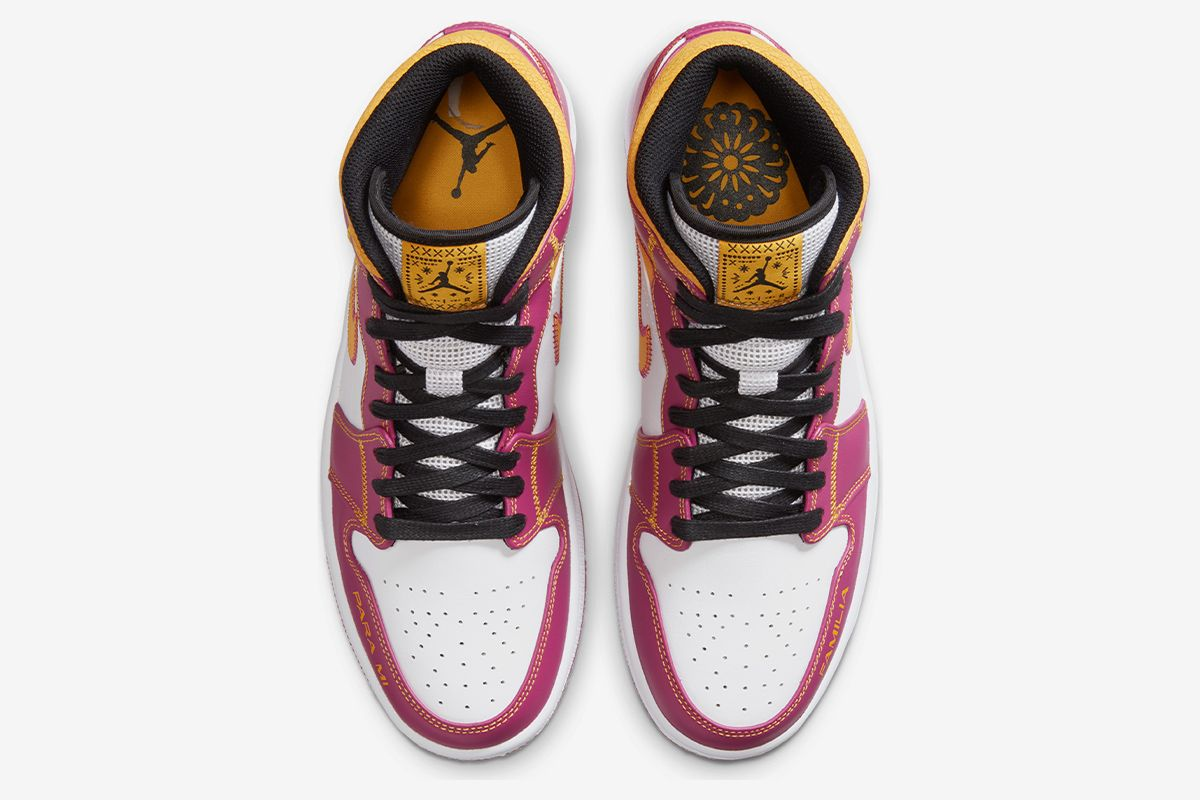 "Nike Celebrates ""Day of the Dead"" With Vibrant Air Jordan 1 Mid 15"