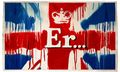 Banksy 'Er…' – Free Diamond Jubilee Print